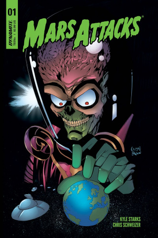 Mars Attacks #1 (Coleman Cover)
