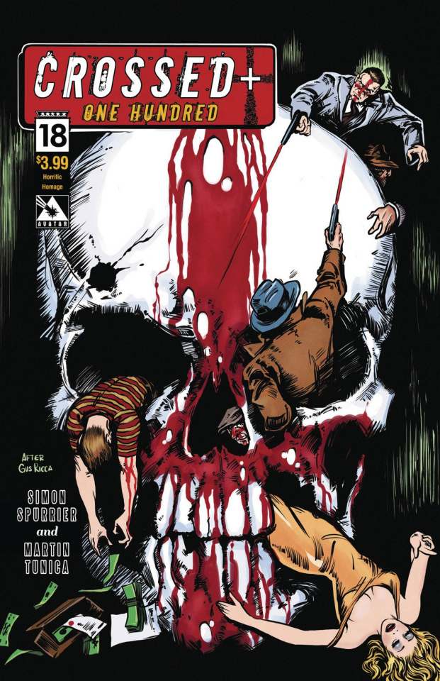 Crossed + One Hundred #18 (Horrific Homage Cover)