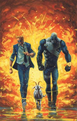 Quantum & Woody #9 (Fowler Cover)