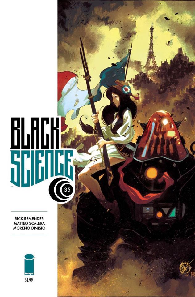 Black Science #35 (Scalera & Dinisio Cover)