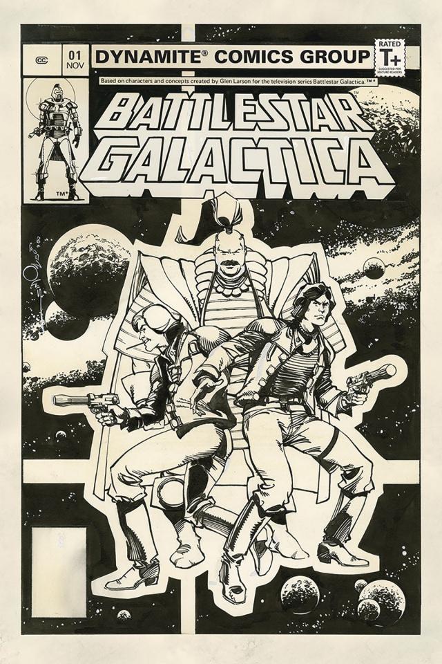 Battlestar Galactica Classic #1 (10 Copy Simonson B&W Cover)