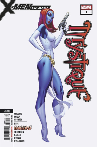 X-Men: Black - Mystique #1 (2nd Printing)