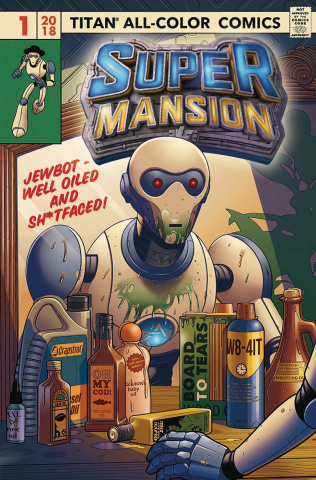 Supermansion #1 (Elphick Cover)