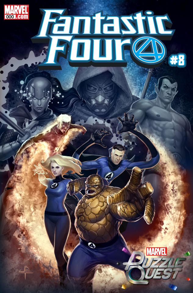 Fantastic Four #8 (Yongho Cho Mystery Cover)