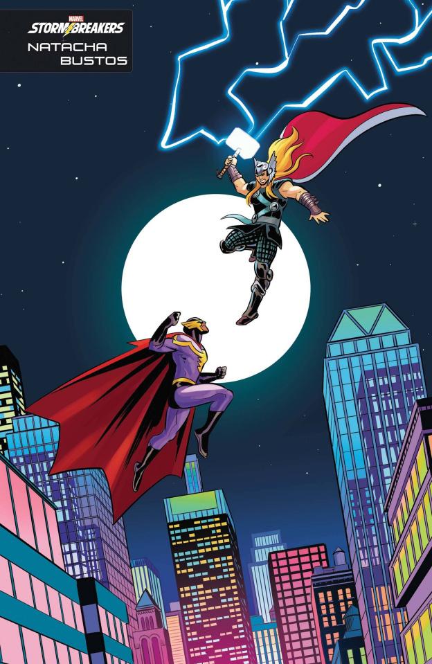 Heroes Reborn #2 (Bustos Stormbreakers Cover)