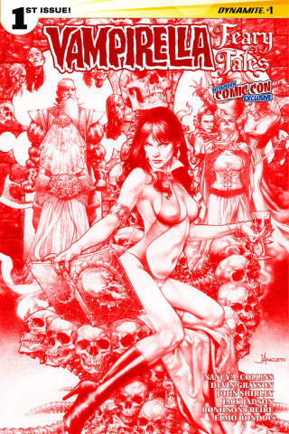 Vampirella: Feary Tales #1 (Anacleto Blood NYCC Cover)