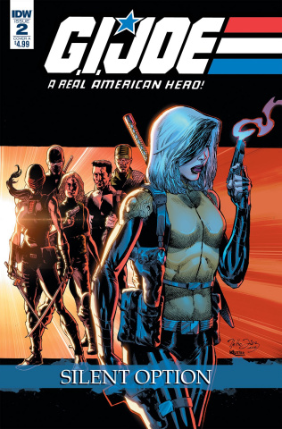 G.I. Joe: A Real American Hero - Silent Option #2 (Diaz Cover)