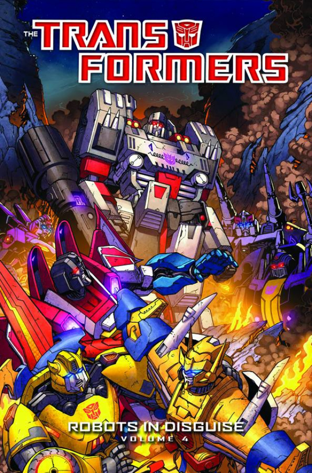 The Transformers: Robots in Disguise Vol. 4