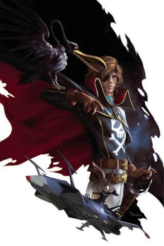 Space Pirate: Captain Harlock #1 (Mercado Cover)
