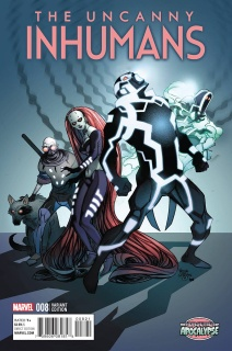 The Uncanny Inhumans #8 (Ferry AoA Cover)