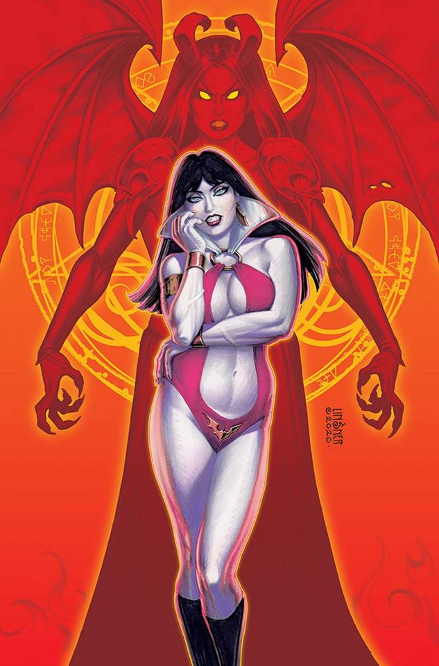 Vampirella vs. Purgatori #1 (Linsner Virgin Cover)