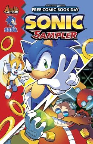 Sonic Sampler (FCBD 2016 Edition)