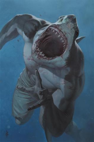 Suicide Squad: King Shark #1 (Riccardo Federici Card Stock Cover)