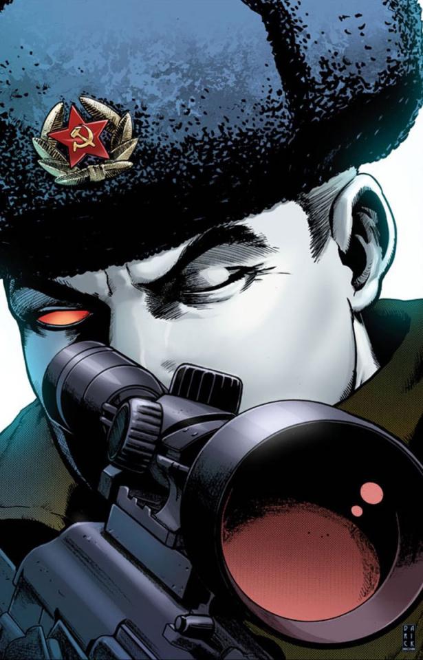 Bloodshot: Reborn #16 (20 Copy Robertson Cover)