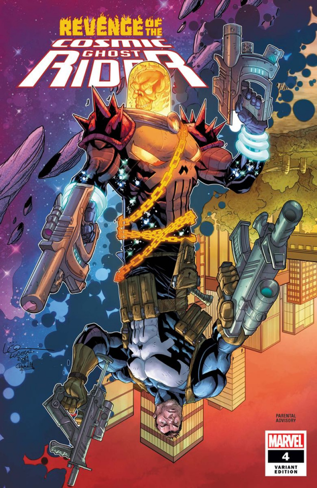 Revenge of the Cosmic Ghost Rider #4 (Lubera Cover)