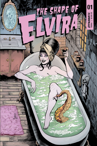 The Shape of Elvira #1 (Acosta Cover)