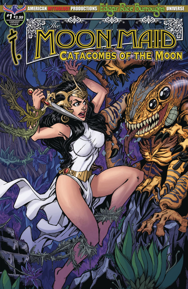 Moon Maid #1 (Calzada Fury Cover)