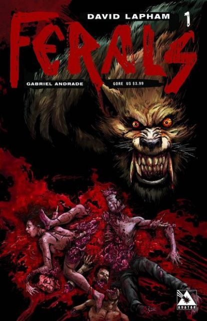 Ferals #1 (Gore Cover)