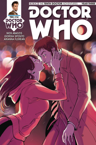Doctor Who: New Adventures with the Tenth Doctor, Year Three #14 (Zanfardino Cover)