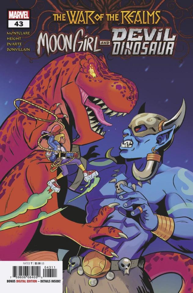 Moon Girl and Devil Dinosaur #43