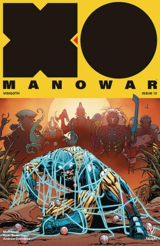 X-O Manowar #12 (Camuncoli Cover)