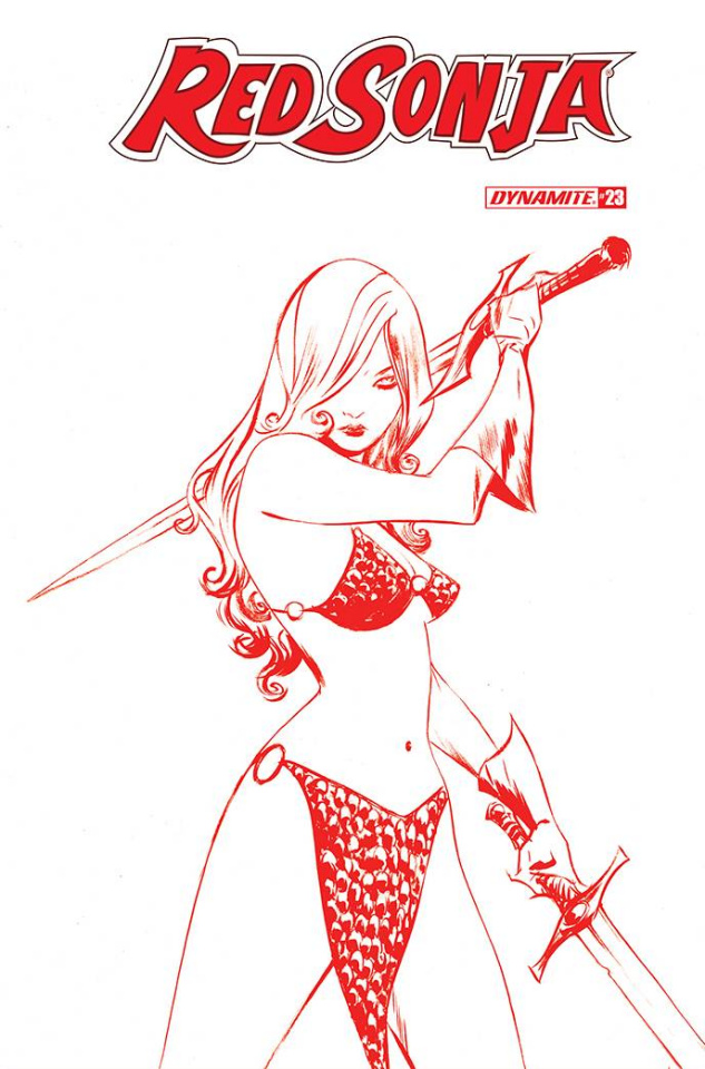 Red Sonja #23 (21 Copy Lee Tint Cover)