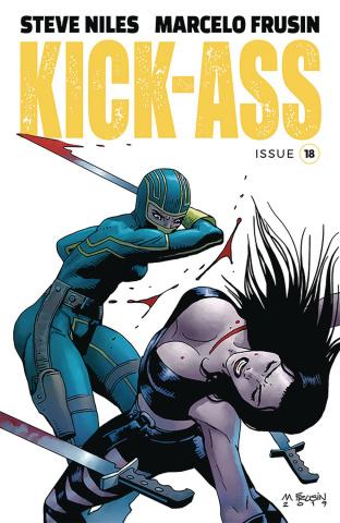 Kick-Ass #18 (Frusin Cover)