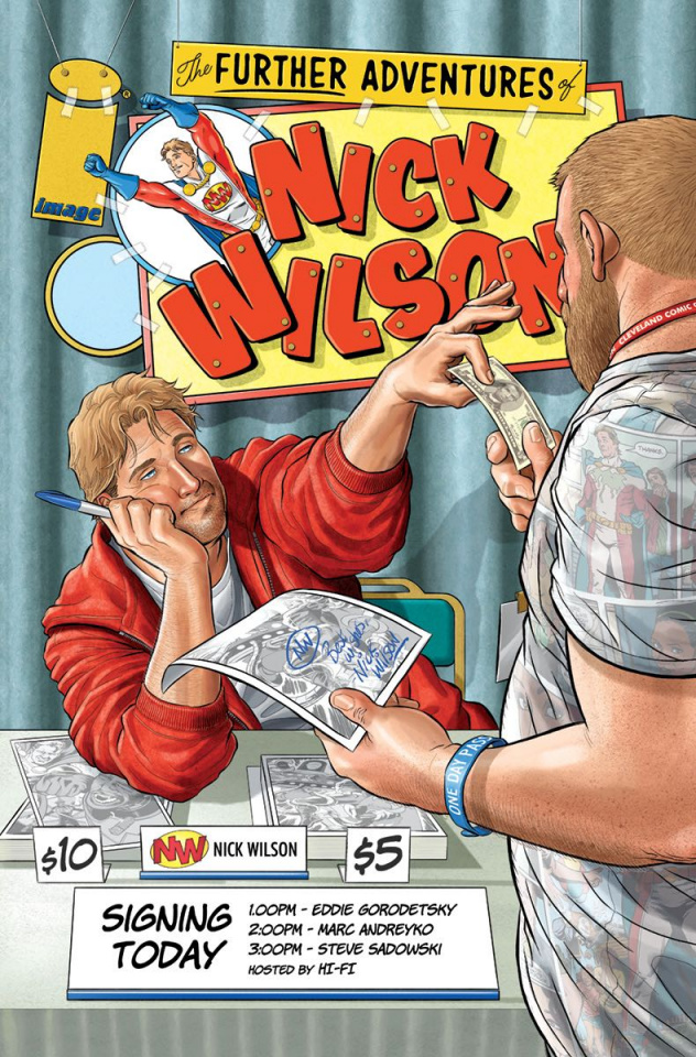 The Further Adventures of Nick Wilson #1 (Churchill Cover)