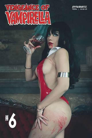 Vengeance of Vampirella #6 (Lorraine Cosplay Cover)