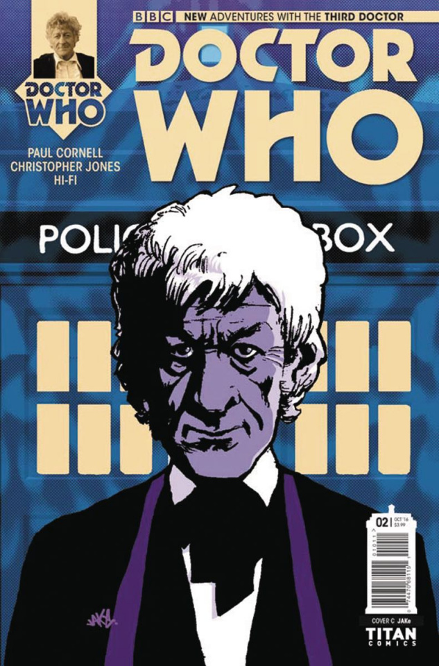 Doctor Who: New Adventures with the Third Doctor #2 (Jake Cover)
