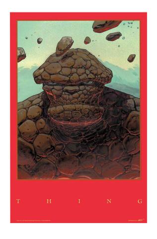 Fantastic Four #3 (Moebius Cover)