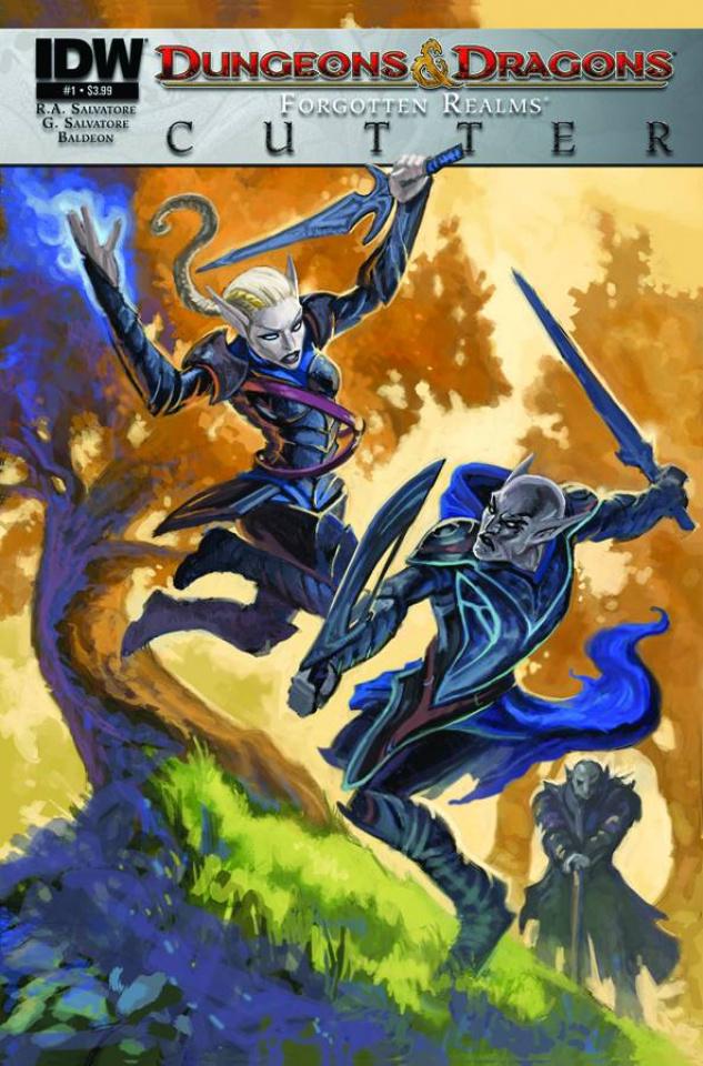 Dungeons & Dragons: Cutter #1