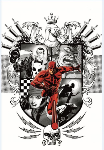 Marvel Knights: 20th Anniversary #2 (Johnson Cover)