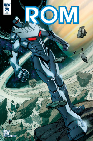ROM #8 (10 Copy Cover)