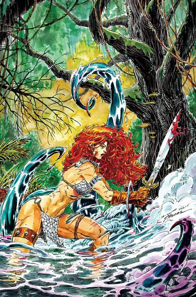 Red Sonja #1 (30 Copy Booth Virgin Cover)