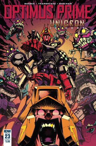Optimus Prime #23 (Zama Cover)