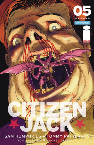 Citizen Jack #5 (Rossmo Cover)