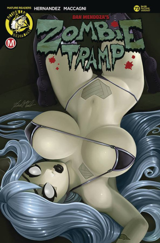 Zombie Tramp #73 (McComb Cover)