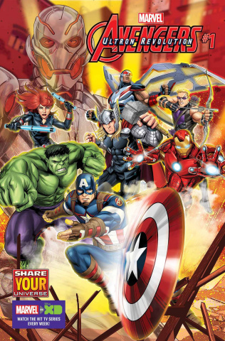 Marvel Universe Avengers: Ultron Revolution #1