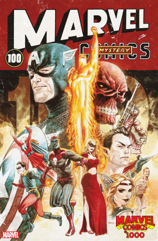 Marvel Comics #1000 (Andrews Decade Cover)
