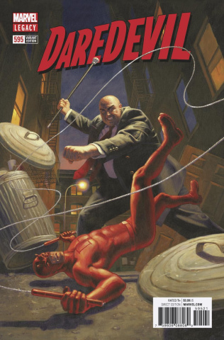 Daredevil #595 (Hildebrandt Cover)