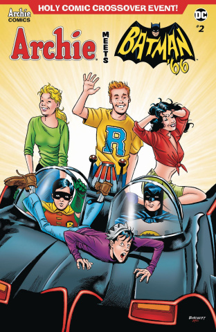 Archie Meets Batman '66 #2 (Burchett Cover)