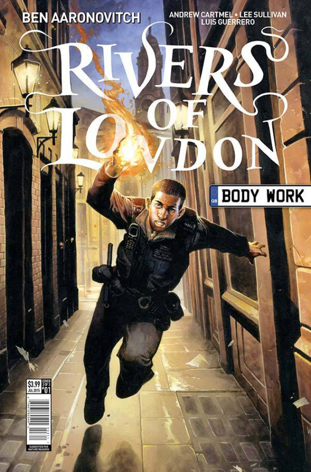 Rivers of London #1 (10 Copy Reynolds Cover)