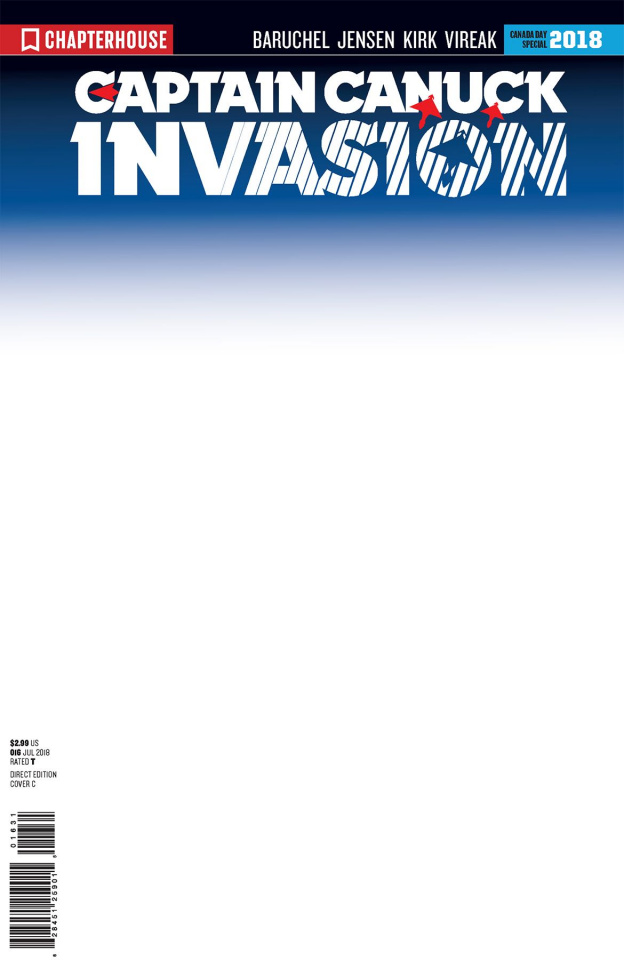 Invasion (5 Copy Character File Sketch Cover)