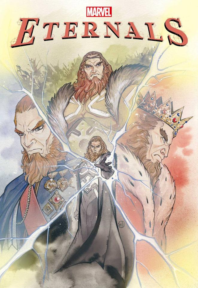Eternals #1 (Momoko Cover)
