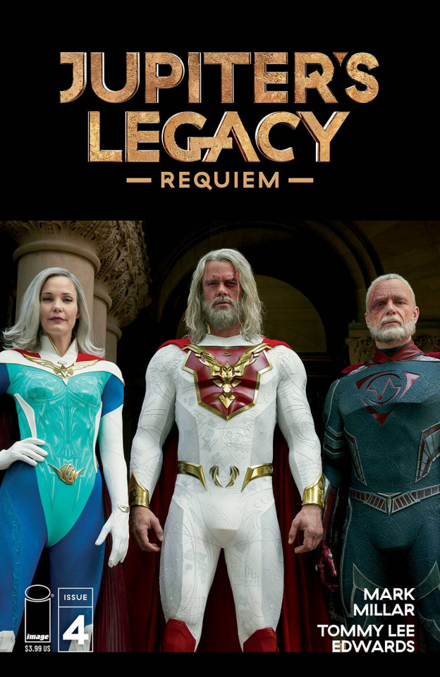 Jupiter's Legacy: Requiem #4 (Netflix Photo Cover)
