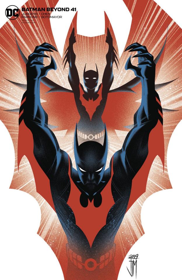 Batman Beyond #41 (Francis Manapul Cover)