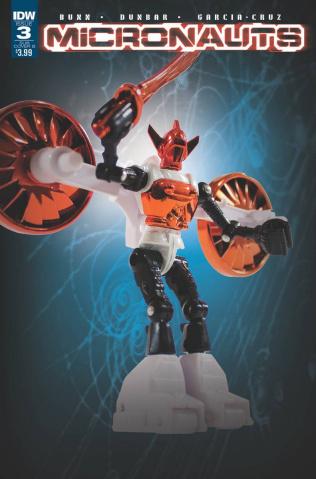 Micronauts #3 (Subscription Cover)