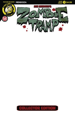 Zombie Tramp: Origins #1 (Blank Cover)