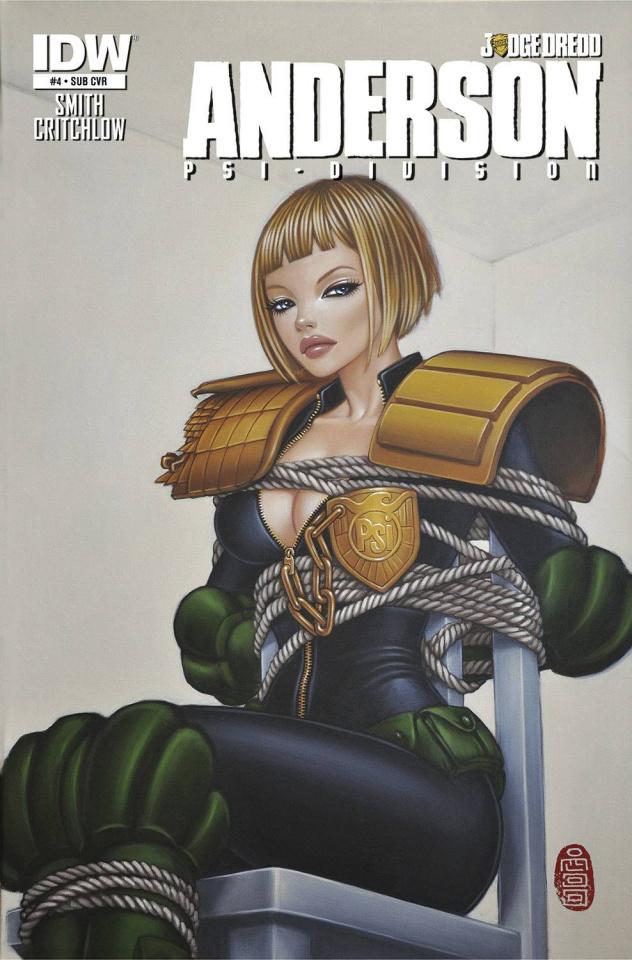 Judge Dredd: Anderson - Psi-Division #4 (Subscription Cover)